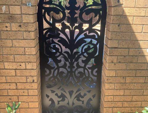 decorative door